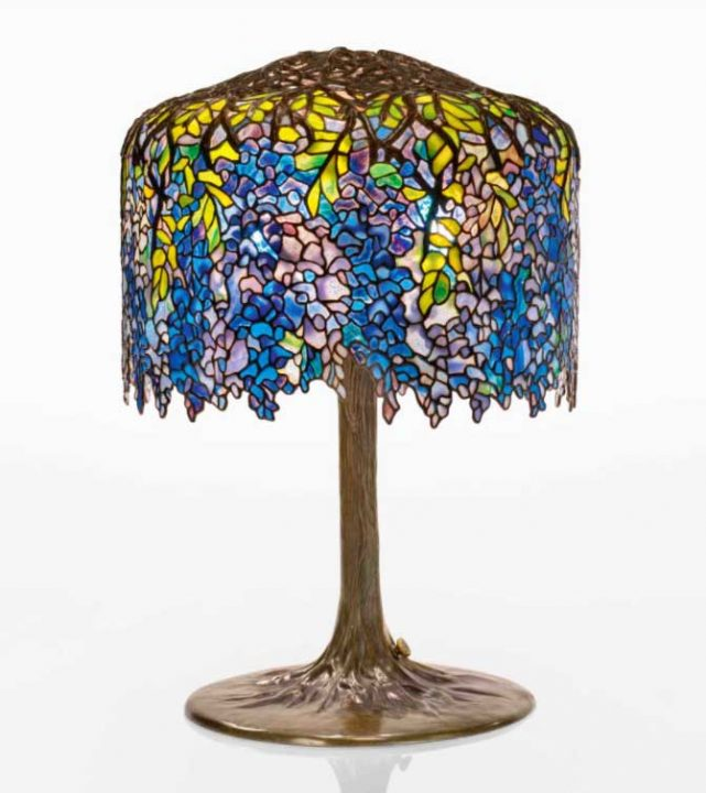 Great results at Sotheby's Dreaming in Glass: Masterworks by Tiffany Studios sale, December 10, 2020