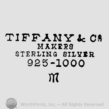 Mark with Tiffany & Co writen on top;Makers | #171090