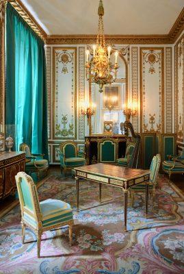 Marie Antoinette's Cabinet Dore in Versailles