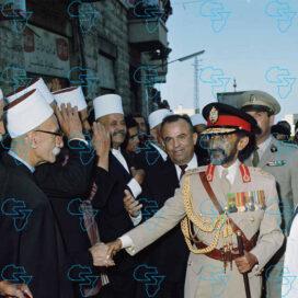 RARE Print: HIM Haile Selassie I (Ethiopia) & Sami Süleyman Gündoğdu Demirel
