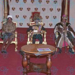 RARE Print: Haile Selassie I, His Excellency President Jomo Kenyatta (Kenya)
