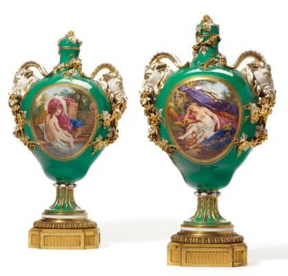 Sevres Porcelain- vases
