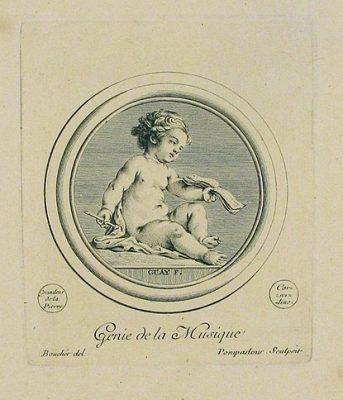 Drawing by Madame de Pompadour