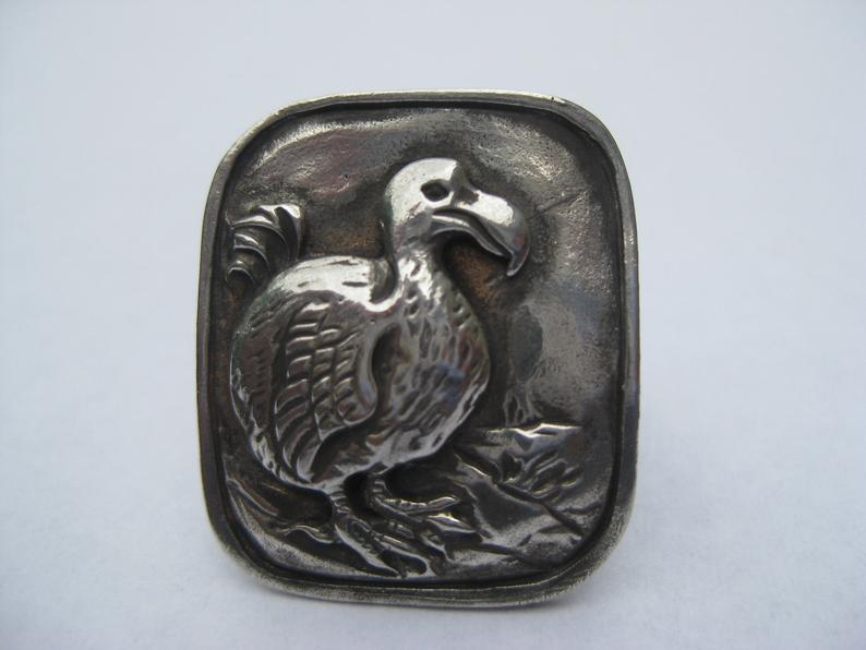 LNJ dodo bird ring