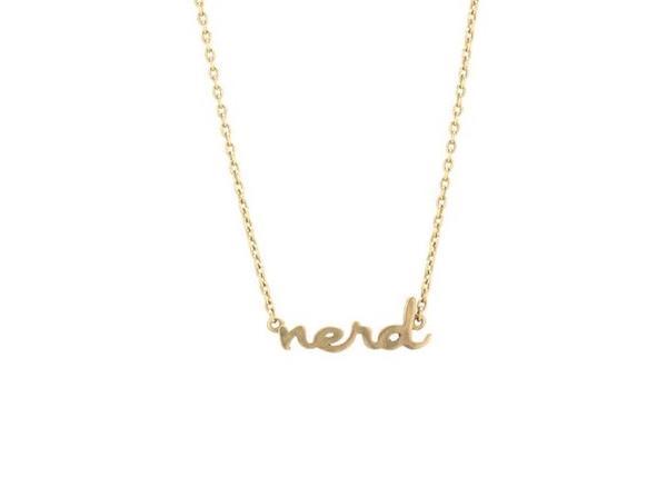 LNJ nerd necklace
