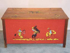 Stashing Toys in Style – Vintage Toy Chests
