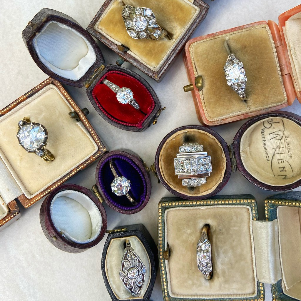 Audrey&Wolf Engagement rings