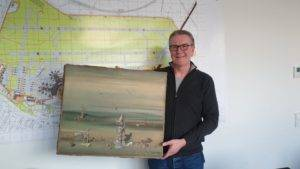 Great Discoveries: Surrealist Painting Worth $340K Found in Airport Recycling Bin