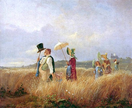 Biedermeier painting by Carl Spitzweg