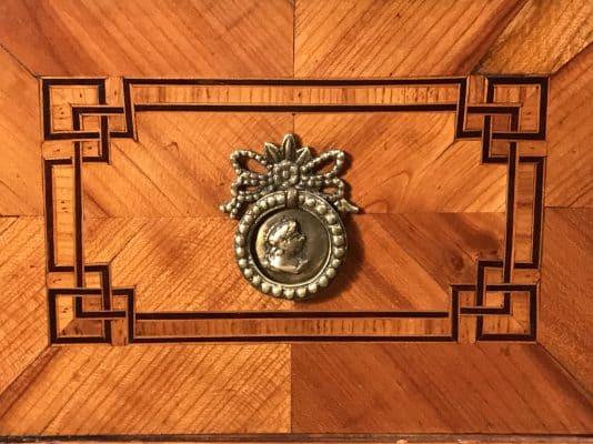 Detail of Louis XVI Dressing Table