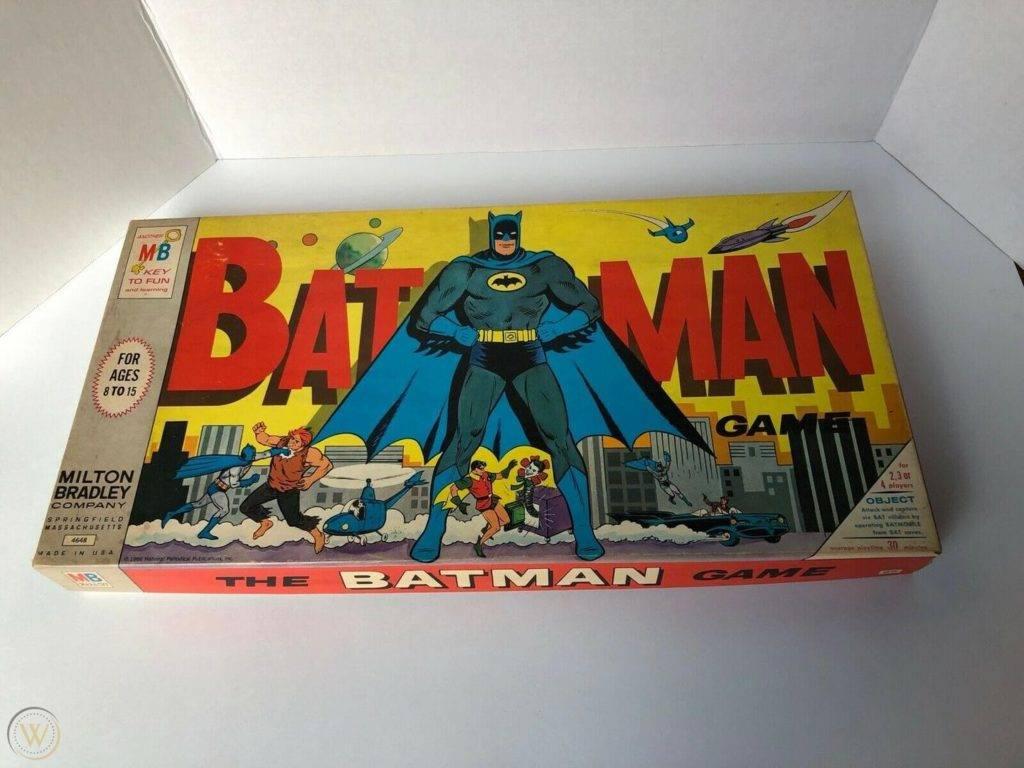 Vintage batman board game milton 1 4aab9253ccb6cd288dddd581934de142