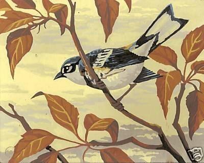Vintage paint number nuthatch bird 1 99242710918cfe0ecc2b5fa7df2d0840