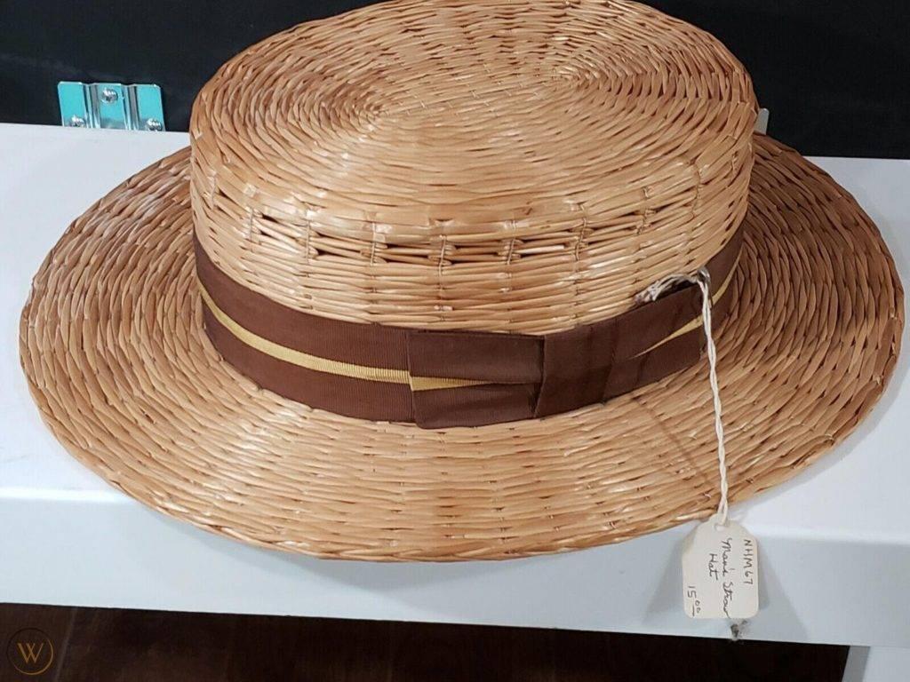 Vintage browcrest straw hat 1 784906961c601512fd1d1c200fea334d