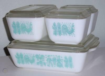 Pyrex vintage amish butterprint 8pc 1 b8289b34d4d8f235aef33d059c567c05