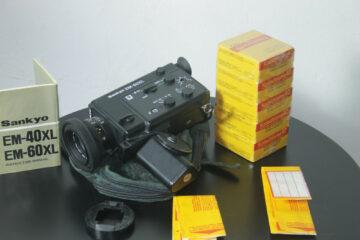 SANKYO EM-60, EM60, EM 60 XL Super 8 Cine Camera & 5 x Kodachrome Films & Manual