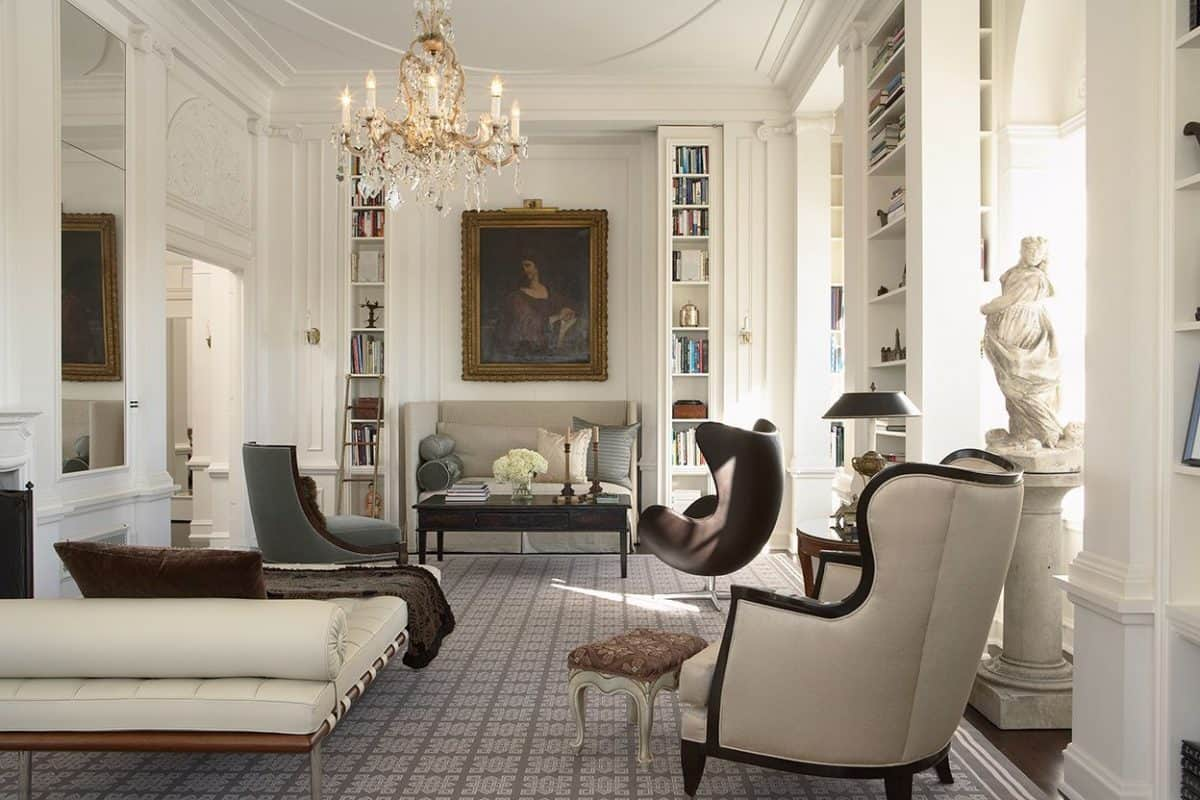 Interior design styles- antique and modern- styylish