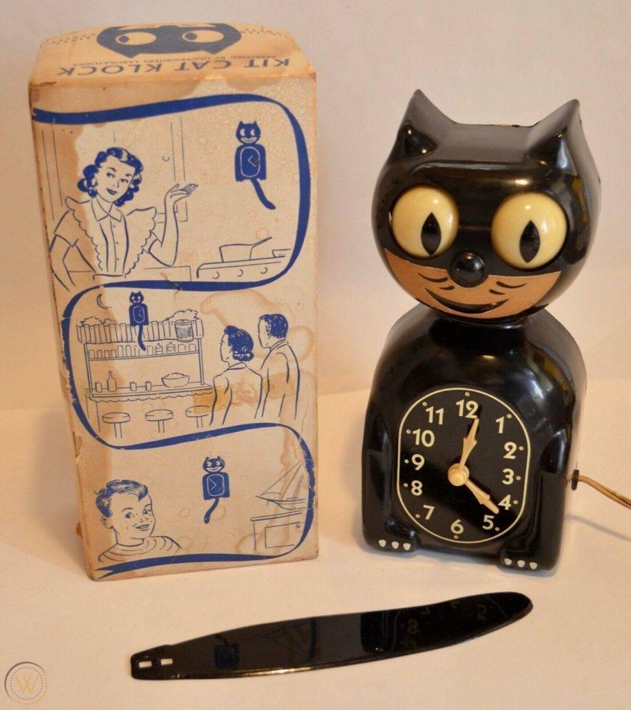 Mint vintage 1940s c2 kit cat klock 1 fad9b0654ab62728109db778ca5ae82f