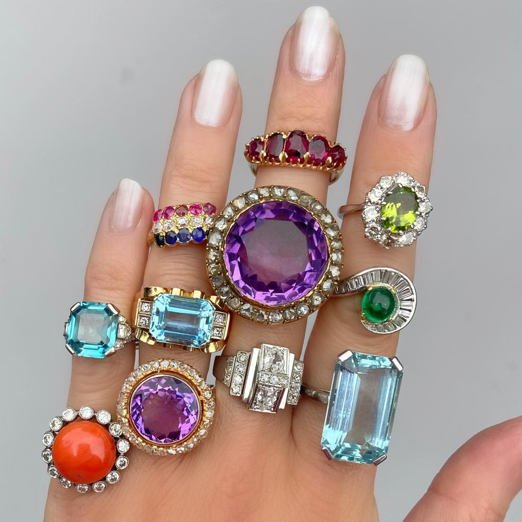 Audrey&Wolf Mixed Rings