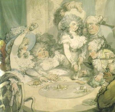 Gambling in the 18th century