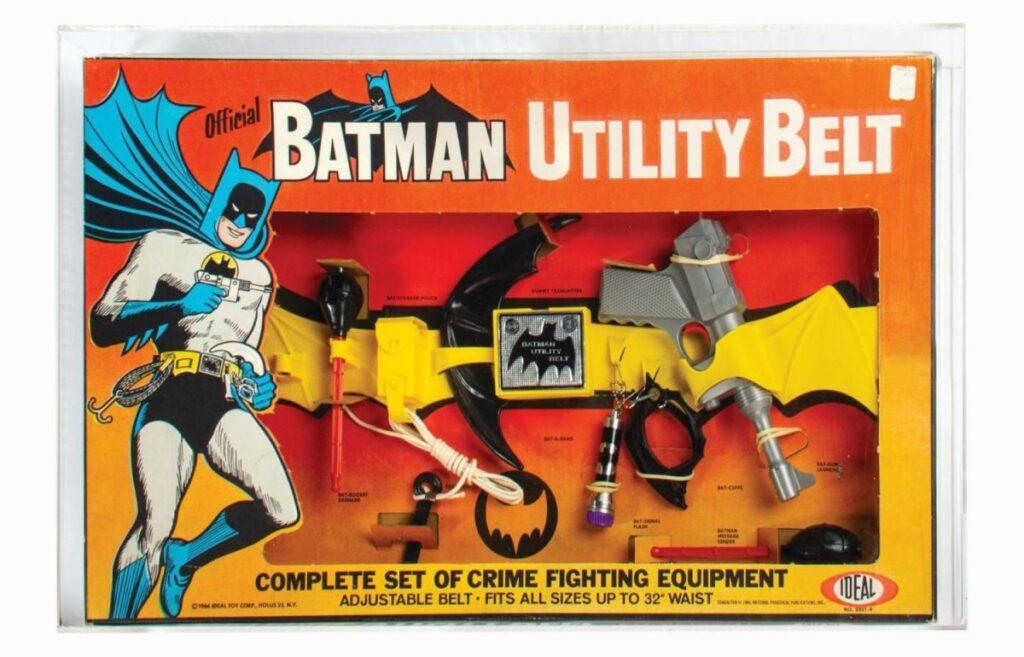 Batman Utility Belt Drives Bidders Batty