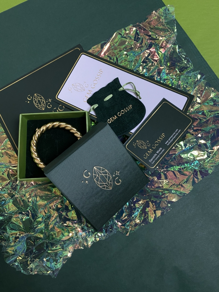New Packaging Thanks to Dana LaRose – Gem Gossip – Jewelry Blog