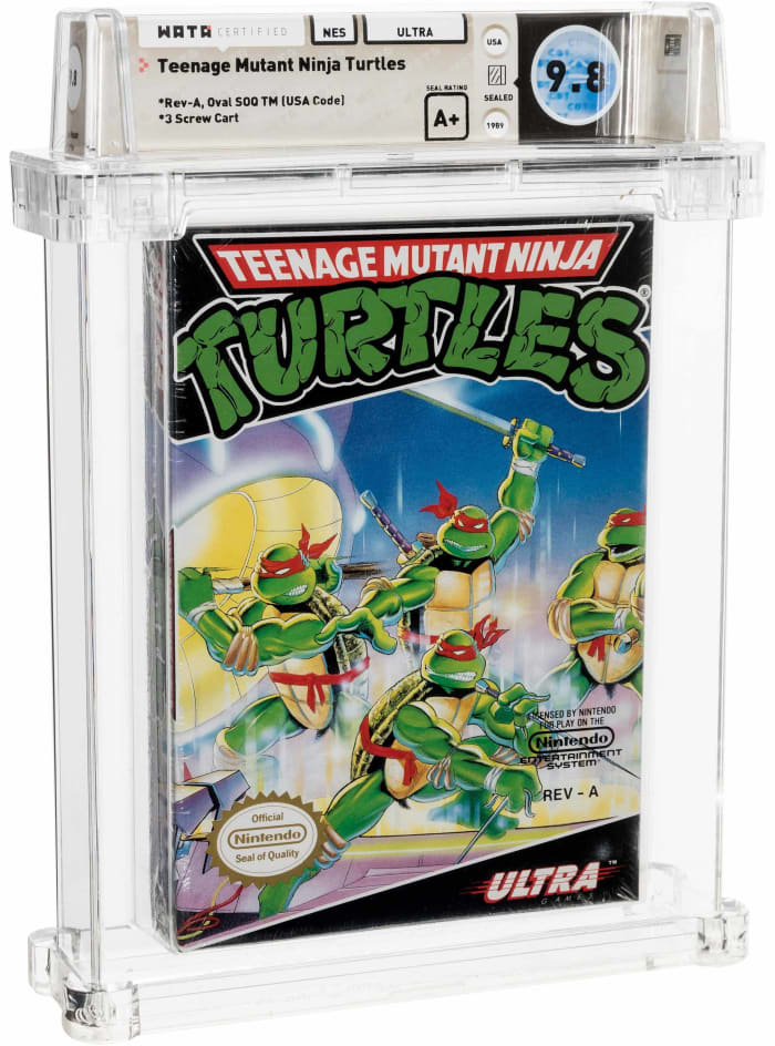Teenage Mutant Ninja Turtles NES Ultra 1989