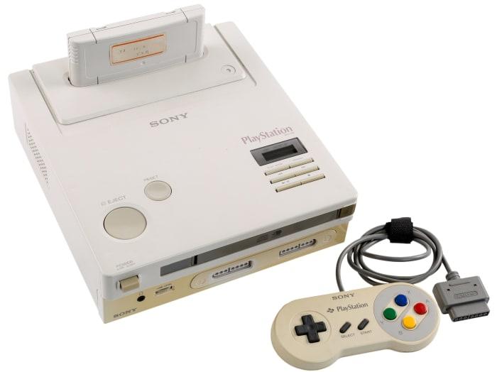 A Nintendo Play Station Super NES CD-ROM Prototype