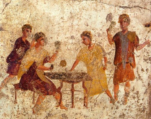 Game tables in the antiquity